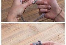 fiñger knitting