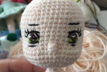 embroidery eyes amigurumi