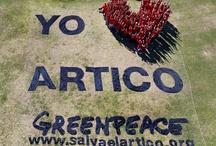 Yo ♥ el Ártico / Miles de personas, un objetivo común: expresar el ♥ por el Ártico.  Sumate y ayudanos a proteger el Ártico de las petroleras. Entrá en www.salvaelartico.org