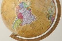 Globusy / Pomoc naukowa do lekcji geografii i przyrody