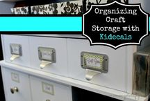 Home organization / by Amiyrah @ 4 Hats and Frugal