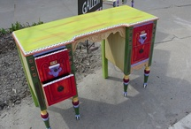 Hand Painted Desks / by Distinctive Artistry
