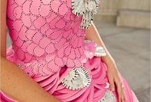Paper plate dresses