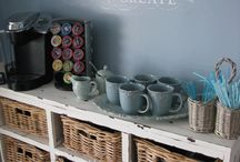 Coffee or tea? / Coffee corner ideas / by Dian Woolcock