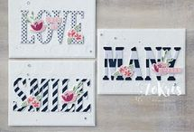 Stampin' UP! Letters for You