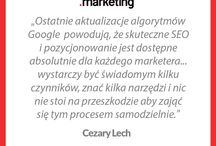 Inspiracje Sprawnego / Zainspiruj się, tym, co powiedzieli geniusze marketingu