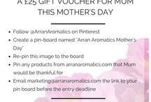 Arran aromatics mothers day / Gifts for mum
