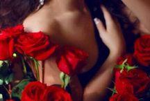 @ Red Roses & Ladies @ / by Em