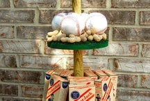 baseball party ideas / by Christine Willey-Ouellette