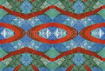 Color engraving pattern