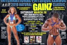 International Physique League - 2016 Natural Gainz Magazine Classic / I competed in this bikini contest!  Eve Gown masters 1st pro card Eve Gown Open 1st pro card  Bikini Masters 1st- pro card Bikini Open 5th International Physique League - 2016 Natural Gainz Magazine Classic Saturday March 26 Prejudging 12:00 – 2:00 pm, finals 3:30 – 5:30 pm Baruch Performing Arts Center 55 Lexington Ave Manhattan