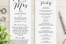 Invitations/Programs