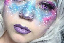 Галактический макияж
