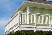 Exterior House Colours / A collection of our exterior house colours, from soft trays to bright and bold yellows painted by Warline Painting Ltd.