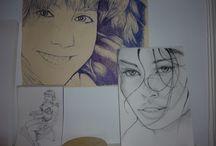 Trabajos y dibujos propios / Algunos trabajos realizados por mi, un trabajo importante