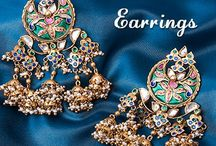 Earrings / Gold and Silver Earrings Collection