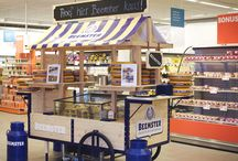Beemster - in-store retail / Smart Cheese Cart. In-store retail for Dutch Cheese brand Beemster.