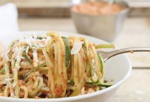 zoodles + inspiralized / by Maggie McKinney