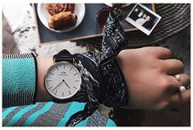Watch Out! / Here are some creative ways to put a personal twist on your Daniel Wellington watch style!