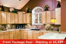 Kitchen Remodeling Special Deals / Save On Kitchens has put together the lowest kitchen remodeling specials in Delaware and Tri-State Area. Each kitchen remodeling deal is designed to suit every budget. Our kitchen design experts will guide you through every step of the way on your kitchen design and the professional installation of your new kitchen.