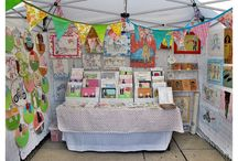 Craft Fair Booth Ideas / Craft Fair Booth Set-Up Ideas and Craft Ideas