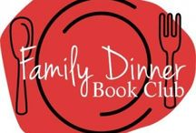 Family Dinner Book Club / Ideas for creating a Family Dinner Book Club.  Book ideas, table decoration ideas, menu plans, and conversation starters are shared each month.  This board also includes other family dinner literacy ideas!