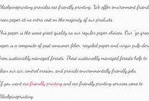 Best Eco Friendly Printing