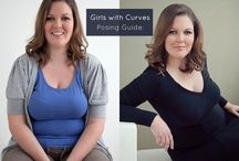 Girls with Curves Poses / Flattering poses for curvy gals