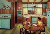 1960 and 70´ interior