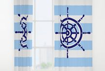 Window Curtains / Add a splash of color to your windows!