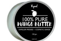 Organic Mango Butter for Dry Skin and Hair Care