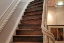 Trapideeën / Mogelijke manieren om de trap veiliger te maken