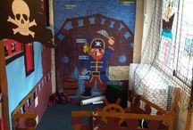 Pirate role play area