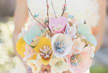 Paper bouquet / Paper bouquet