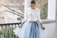 Beautiful Tulle Skirts for the Winter Season