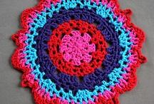 crochet doily/coasters
