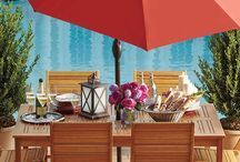 Outdoor Rooms / Transform your garden or patio into a beautiful outdoor room with these tips.