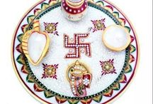 Worship Plate / Pooja thali is a very important part of every festive occasion . A pooja thali is a plate which is used for offering prayers to God.