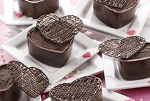 Docinhos / Coração de chocolate