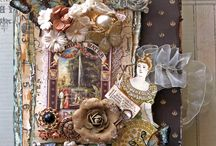 Altered items / by karen Mattison