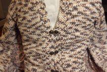 jacket loom knit