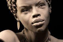 Скульптура лица