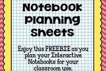 interactive notebook / by Amanda Hestdalen