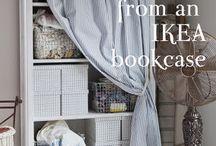 Bookshelf help / How to make all my shelves look better!