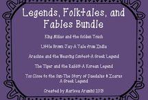 Legends, folk tales, fables