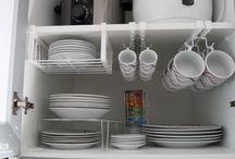 Organizar cozinha/despensa