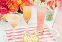 Wedding eats and drinks / Gorgeous wedding goodies to eat and drink