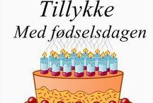 Fødselsdag / Birthday