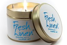 Scented Candles / Beatifully fragranced colourful candles.