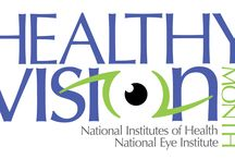 Women's Eyes / May is Healthy Vision Month, and this year, we are putting women in the spotlight. Did you know that 2/3 of the people with visual impairment and blindness in the U.S. are women?  Join the National Eye Institute (NEI) in spreading the word about important steps women can take to make their vision last a lifetime!